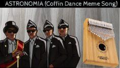 ASTRONOMIA – Coffin Dance Meme Song – Kalimba Tutorial and Kalimba Tabs