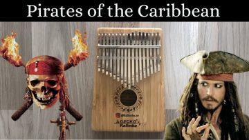 KARAYİP KORSANLARI (Pirates of the Caribbean) KALİMBA NOTALARI | KALİMBA DERS